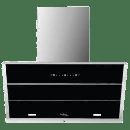 Hindware Maple 1250 m³/hr 90cm Filterless Chimney (Thermal Auto Clean, 517486, Black)_1