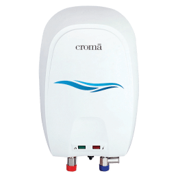 Croma 3 Litres Instant Water Geyser (3000 Watts, CRAG8001, White)_1
