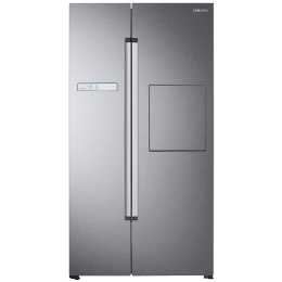 Samsung 845 Litres Frost Free Digital Inverter Side-by-Side Refrigerator (All-Around Cooling Technology, RS82A6000SL/TL, Ez Clean Steel)_1