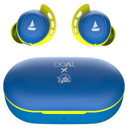 boAt Airdopes 441 CSK Edition In-Ear Truly Wireless Earbuds with Mic (Bluetooth 5.0, Voice Assistant Support, Blue)_1