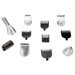Swiss Military Grooming Kit for SHV-5 Trimmer (Stainless Steel Blades, SHV5ACC, Silver)_1