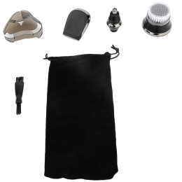 Swiss Military Grooming Kit for SHV-6Trimmer (Flex Head, SHV6ACC, Black)_1