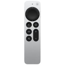 Apple Smart Remote Control For Media Streaming Device (MJFN3ZM/A, Silver)_1