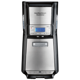 Hamilton Beach 12 Cups Fully Automatic Coffee Maker (48465-SAU, Silver)_1