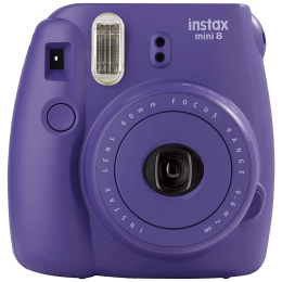 Fujifilm Instax Mini 8 Instant Camera (CMOS Sensor, 16443840, Grape)_1