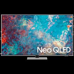 Samsung 8 Series 138cm (55 Inch) Ultra HD 4K QLED Smart TV (Quantum Matrix Technology, QA55QN85AAKLXL, Eclipse Silver)_1