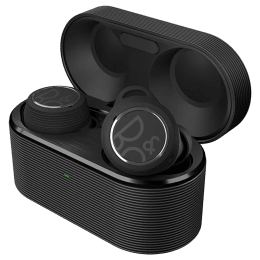 Bang & Olufsen Beoplay E8 Sport In-Ear Passive Noise Cancellation Truly Wireless Earbuds with Mic (Bluetooth 5.1, Qi Wireless Charging, BO-BPE8ST-BLK, Black)_1