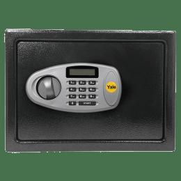 Yale 8.6 Litres Digital & Manual Safety Locker (1 Shelve, YSS/200/DB2, Black)_1
