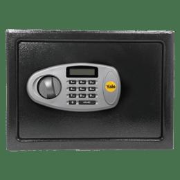 Yale 26.8 Litres Digital & Manual Safety Locker (1 Shelve, YSS/300/DB2, Black)_1