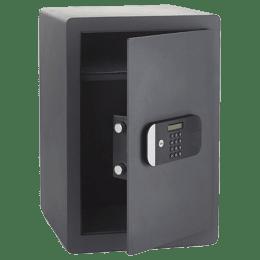 Yale 49.8 Litres Digital Safety Locker (1 Shelve, YSEM/520/EG1, Black)_1