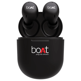 Boat Airdopes In-Ear Truly Wireless Earbuds with Mic (Bluetooth 5.0, 383, Black)_1
