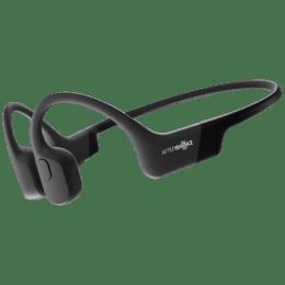 AfterShokz Aeropex Bone Conduction Wireless Headphone with Mic (Bluetooth 5.0, Moisture Detection Alert, AS-APEX-BLK, Cosmic Black)_1