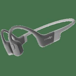 AfterShokz Aeropex Bone Conduction Wireless Headphone with Mic (Bluetooth 5.0, Moisture Detection Alert, AS-APEX-GRY, Lunar Grey)_1