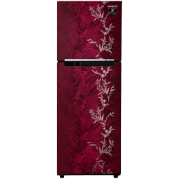 Samsung 253 Litres 2 Star Frost Free Digital Inverter Double Door Refrigerator (Solar Compatible, RT28T30226R/NL, Mystic Overlay Red)_1