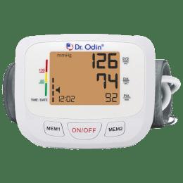 Dr. Odin LCD Blood Pressure Monitor (Intelligent Compression, TSB-602S, White)_1
