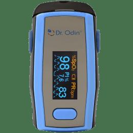 Dr. Odin OLED Pulse Monitor/Oximeter (Alarm Function, A-330N, Blue/Black)_1