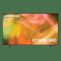 Samsung 8 Series 138cm (55 Inch) Ultra HD 4K LED Smart TV (Multi Voice Assistant Supported, UA55AU8200KLXL, Titan Grey)_1