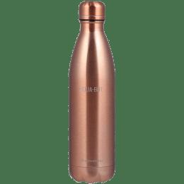 Wonderchef Aqua-Bot 0.5 Litres Stainless Steel Water Bottle (Vacuum Insulation, 63153231, Copper)_1