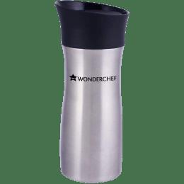 Wonderchef Travel Bot 0.3 Litres Stainless Steel Water Bottle (Vacuum Insulation, 63153137, Silver)_1