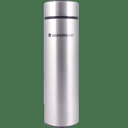 Wonderchef Nutri-Bot 0.48 Litres Stainless Steel Water Bottle (Vacuum Insulation, 63152861, Steel)_1