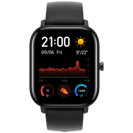 Fire-Boltt Smart Watch (Full Touch 3.55 cm (1.4 inch), 35mm) (SPO2, BSW001, Black, Silicone)_1