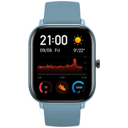 Fire-Boltt Smart Watch (Full Touch 3.55 cm (1.4 inch), 35mm) (SPO2, BSW001, Blue, Silicone)_1