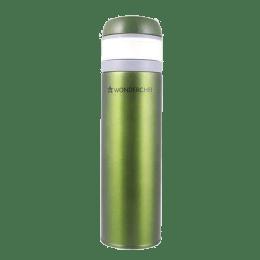 Wonderchef Uni-Bot 0.5 Litres Stainless Steel Water Bottle (Vacuum Insulation, 63152878, Olive Green)_1