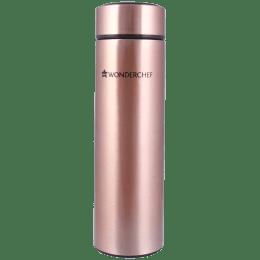 Wonderchef Nutri-Bot 0.48 Litres Stainless Steel Water Bottle (Vacuum Insulation, 63152860, Copper)_1