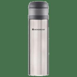 Wonderchef Uni-Bot 0.5 Litres Stainless Steel Water Bottle (Vacuum Insulation, 63152855, Silver)_1