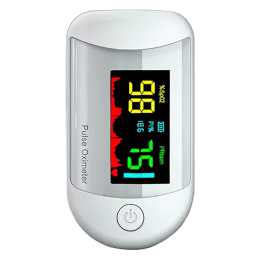 iGear Health Digital Pulse Monitor/Oximeter (Perfusion Index of 0.3%, iG-A3, White)_1
