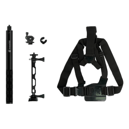 Insta360 Bike Bundle for One X2, One R, Go 2 (Perfect for Cycling, Mountain Biking, IN.00000001.11, Black)_1