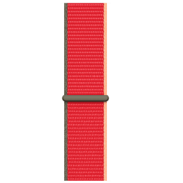 Apple Strap For Apple Watch 42 mm, 44 mm (MJG33ZM/A, (Product)Red)_1