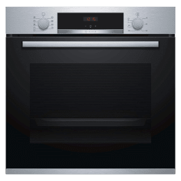 Bosch Serie 4 71 Litres Convection Built-in Oven (Pre-Heating Function, HBA574BR0Z, Black/Stainless Steel)_1