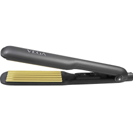 Vega Hair Crimper (Wide Ceramic Coated Crimper Plates, VHCR-01, Black)_1