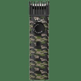 Vega X1 Stainless Steel Blades Corded/Cordless Trimmer (40 Length Settings, VHTH-16, Green)_1