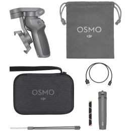 DJI Osmo Mobile 3 Selfie Stick (3-Axis Stabilized Gimbal, CP.OS.00000040.03, Grey)_1