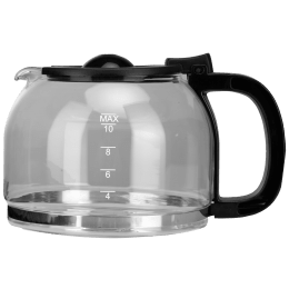 Croma Carafe For Coffee & Tea Maker (Max 15 Cup Coffee Making Capacity, CRAK0028, Black)_1