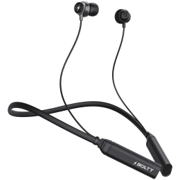 Fire-Boltt BN1001 In-Ear Noise Isolation Wireless Earphone with Mic (Bluetooth 5.0, Voice Assistant Supported, BN1000, Black)_1