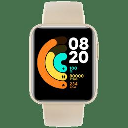 Xiaomi Redmi Smart Watch (GPS, 35.56mm) (Heart Rate Sensor, BHR4365IN, Ivory, Thermoplastic Polyurethane)_1