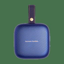 Harman Kardon Neo 3 Watts Portable Bluetooth Speaker (IPX7 Waterproof, HKNEOBLU, Blue)_1