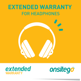 Onsitego 1 Year Extended Warranty for Headphone (Less than Rs.5,000)_1