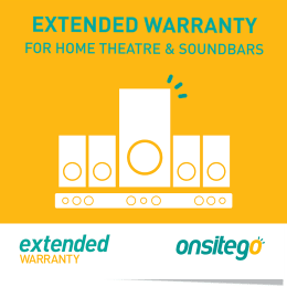 Onsitego 1 Year Extended Warranty for Home Theatre & Sound Bar (Rs.250,000 - Rs.300,000)_1