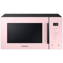 Samsung Baker 23 Litres Grill Microwave Oven (Auto Cook, MG23T5012CP/TL, Clean Pink)_1