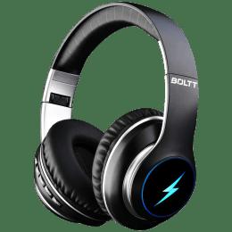 Fire-Boltt BH1201 Over-Ear Noise Isolation Wireless Headphone with Mic (Bluetooth 5.0, Adjustable Headband, BH1200, Black)_1