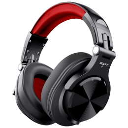 Fire-Boltt BH1401 Over-Ear Noise Isolation Wireless Headphone with Mic (Bluetooth 5.0, Adjustable Headband, BH1400, Red)_1