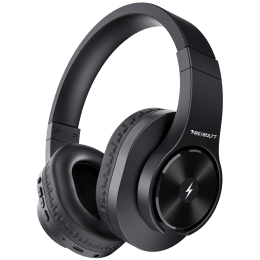 Fire-Boltt 15BHAAY#1 Over-Ear Wireless Headphone with Mic (Bluetooth 5.0, 40 mm Drivers, BH1500, Black)_1