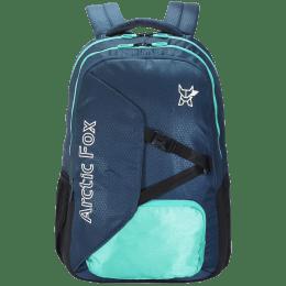 Arctic Fox Cover Up 35 Litres Polyester Backpack for 15.5 Inch Laptop (Adjustable Straps, FUNBPKDDVON097035, Blue)_1
