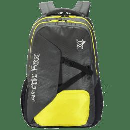 Arctic Fox Cover Up 35 Litres Polyester Backpack for 15 Inch Laptop (Adjustable Straps, FUNBPKCRKON099035, Grey)_1