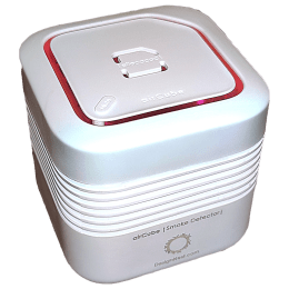 DesignNest AirCube Fire Alarm (85 dB, Low Battery Warning, 11150WT/ACSMDE, White)_1