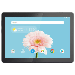 Lenovo Tab M10 REL WiFi + 4G Android Tablet (Android 9.0 Pie, Qualcomm Snapdragon 450, 25.65 cm (10.1 Inches), 4GB RAM, 64GB ROM, ZA500125IN, Slate Black)_1